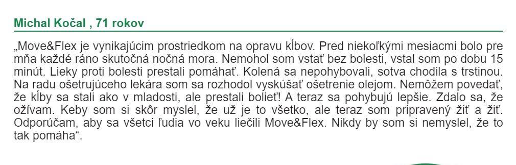 MoveFlex Názory
