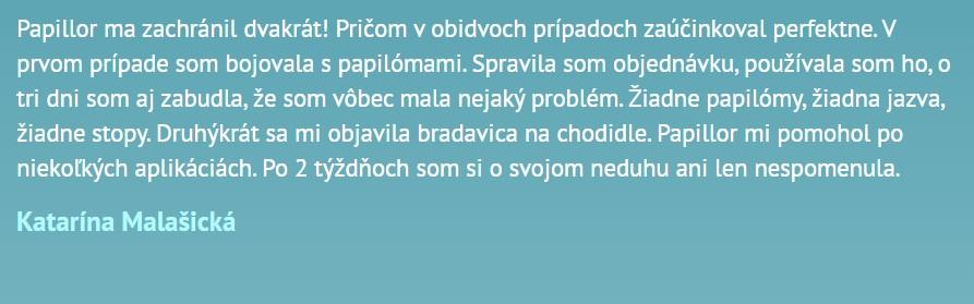 Názory Papillor