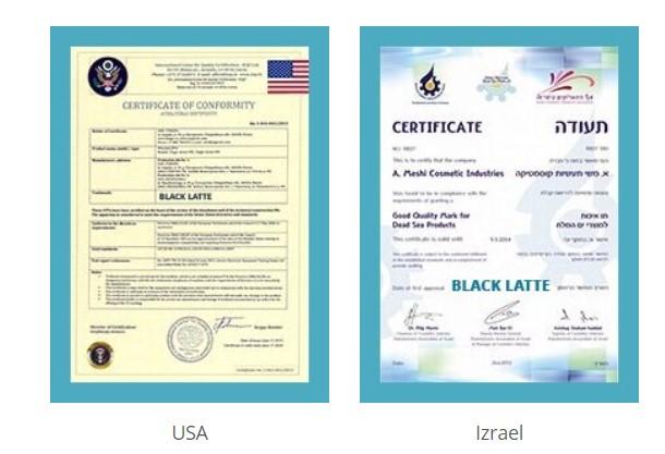 ÚČINOK BLACK LATTE JE POTVRDENÝ VÝSLEDKAMI KLINICKÝCH SKÚŠOK V USA, SLOVENSKÝCH A ISRAELSKÝCH KLINIKÁCH.