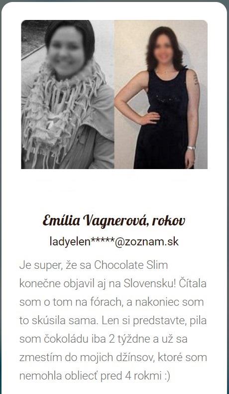 Chocolate Slim Názory