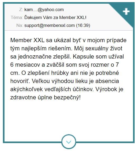názory Member XXL